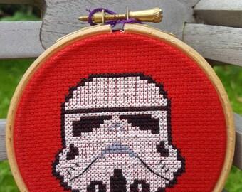 Stormtrooper Cross-stitch Kit