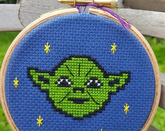 Yoda Cross-stitch Kit