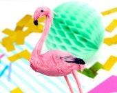 Miniature Flamingo Decoration