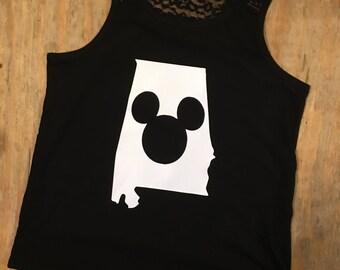 Monogrammed disney shirt,girls disney shirt,womens disney shirt,girls disney monogram,disney glitter shirt,minnie mouse,mickey,kids disney