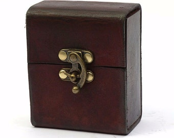 Magic the Gathering Deck Box (standard size) Leather Card Case MTG Deck Box Pokemon, YuGiOh, Yu Gi Oh