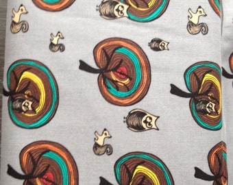 Cotton prints 'Forest life'