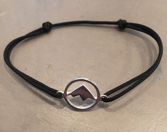 MONT handmade sterling silver string bracelet