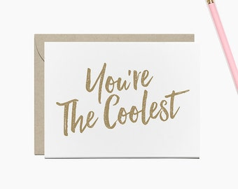 You're The Coolest Stationery Set