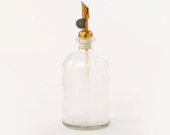 HAVEN Soap & Oil Dispenser - Weighted Gold Pour Spout