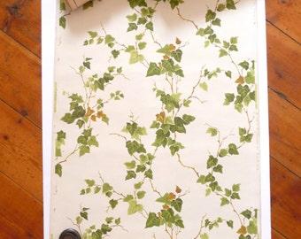1940s Vintage Wallpaper Sunworthy Ivy Design