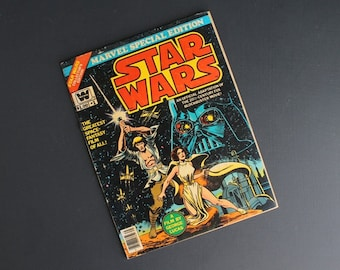 Vintage Star Wars Comic Book Marvel Special Edition 1977 Collector's Edition #1