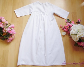 Christening gown ,100% COTTON,various size
