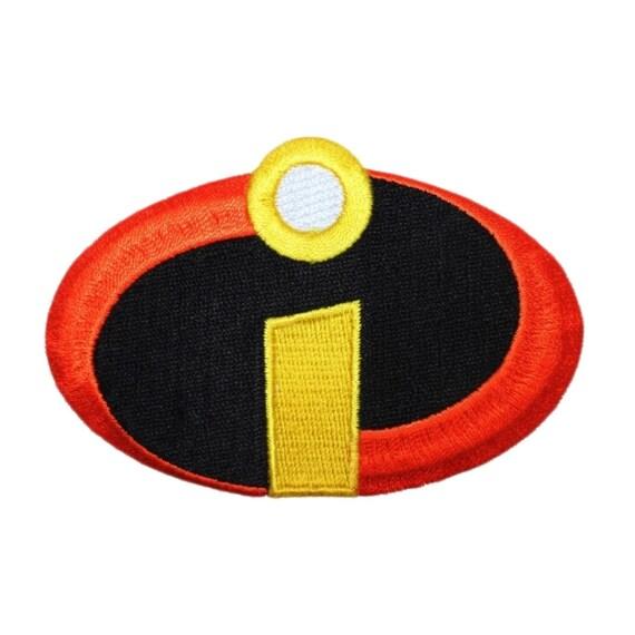 Disney Incredibles Superhero Costume Logo Patch Craft Apparel Iron-On Applique