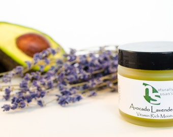MOISTURIZERS - Avocado Lavender Salve - All Natural Nourishing