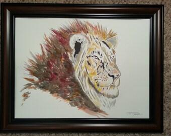 Lion #1 original
