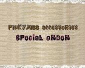 Special order 120 silverware holder