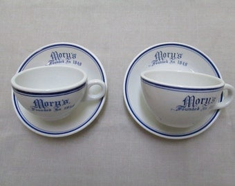 Yale Mory's 2 coffee  cups vintage