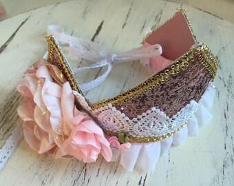 Purple Crown-Baby Girl Headband-Well Dressed Wolf Crown- TuTu Du Monde-Girls Birthday Crown-Girls Birthday