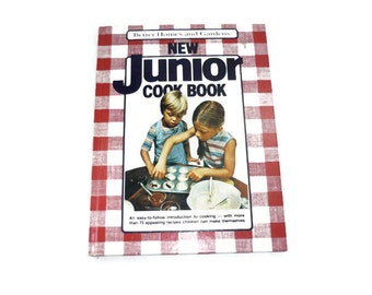 Vintage Better Homes and Gardens New Junior Cookbook