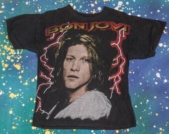 BON JOVI Metal T-Shirt Size M