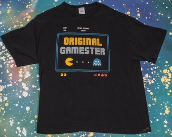 Original Gamester PAC MAN Shirt Size XL