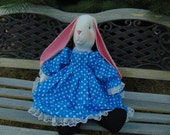 Zoey the Stuffed Bunny Rabbit Doll