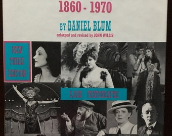 Book, A Pictorial History of the American Theatre 1860 to 1970.