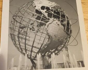 Photo of 1964 World's Fair Unisphere