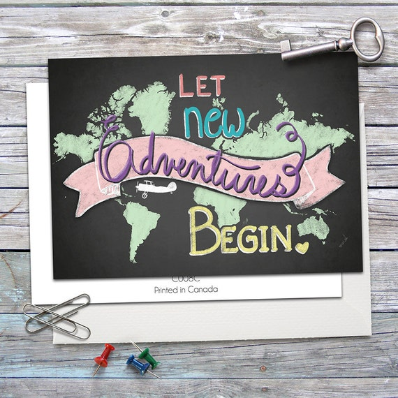 New adventures greeting card let new adventures begin 5x7 il570xn m4hsunfo Images