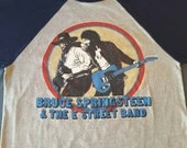 1980 Bruce Springsteen and the E Street Band World Tour Shirt