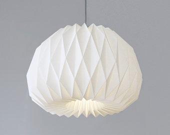 FACING the MOON XL  -  origami lampshade