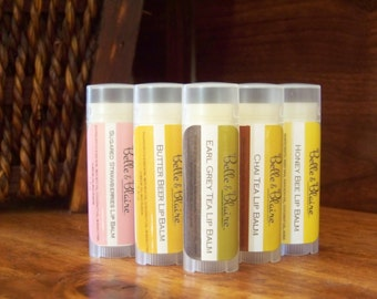 Butter Beer Lip Balm- Harry Potter Inspired- BEST SELLING FLAVOR