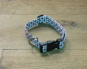Purple Star Adjustable Dog Collar