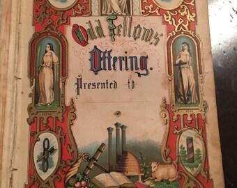 1852 Odd Fellows Offering
