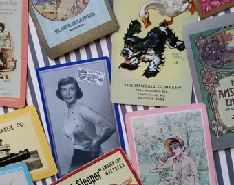 Collection Vintage Advertising Playing Cards | Lot No.2