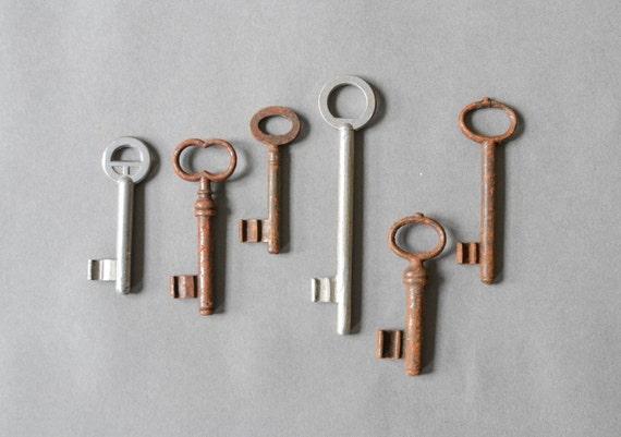 Vintage Keys Set Of Keys Home Antique Keys Decor Decoration