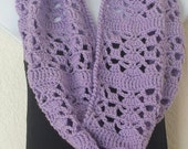 Crochet PATTERN Light and Lacey Cowl