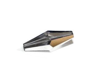 Preciosa Crystal Glass Oat Bead - Vitrail- 1 piece - 10 x 25mm (48-P98)
