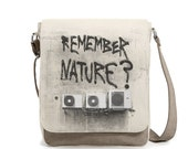 Unisex Shoulder Bag, Work Bag, Canvas bags, Casual Bags, Daily Bags + GIFT T-Short