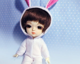 Bunny fancy-dress costume for Lati yellow / PukiFee bjd