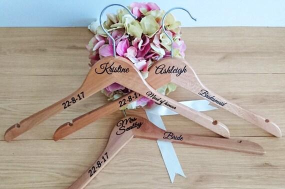 Essential Hangers Personalised Wedding Hangers Custom - Diy vinyl wedding hangers