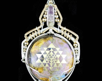 "The ""Blessatron Nebula of Destiny"" Talisman ~ Collaboration with Jason Burruss"