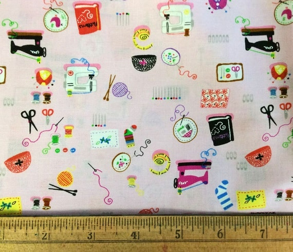 Sewing for a hobby cotton fabric destash sale novelty for Sewing fabric for sale