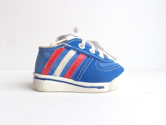 size 1 baby sneakers made in usa vintage 80s size 1 tennis