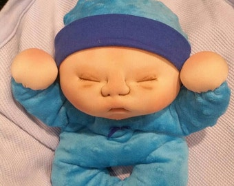 soft sculptured baby doll