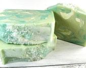 Goat milk soap/LIME MARGARITA/bar soap/handmade soap/skin care/gift women/cold process/bar soap/soap/soap favor/wholesale soap