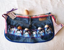 Joe Cool Mini Egg Wrangler - Child Egg Gathering Apron with Snoopy - Size M to L