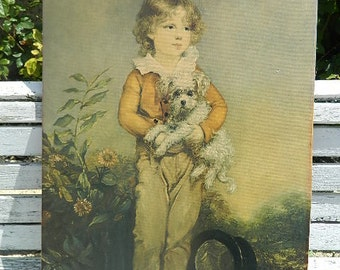 Poster, photo or poster of a child