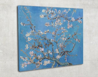 Vincent van Gogh, Almond Blossom, postimpresionism art, print on canvas, ready to hang