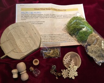 Wurm Wood Bodger's Fairy Door Kit