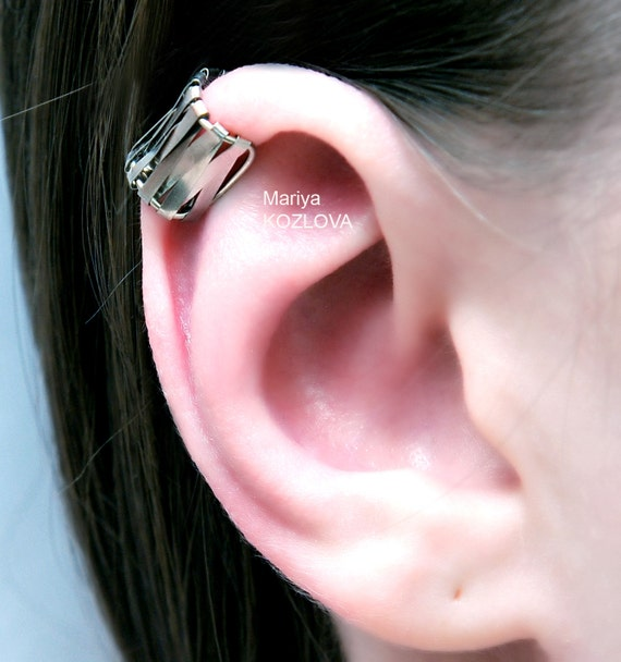 no piercing helix conch ear cuff wire weaving hoop cartilage. Black Bedroom Furniture Sets. Home Design Ideas