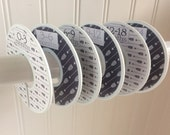 6 Baby Closet Dividers Boy Tribal Arrow Clothes Dividers Closet Organizers  Baby Shower Gift Baby Nursery