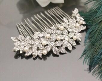 Wedding Hair Accessories Wedding Decorative Combs Wedding Hair Jewelry bridal hair accessories bridal hair comb vintage Wedding comb pearl
