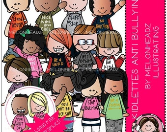 Kidlettes Anti Bullying clip art